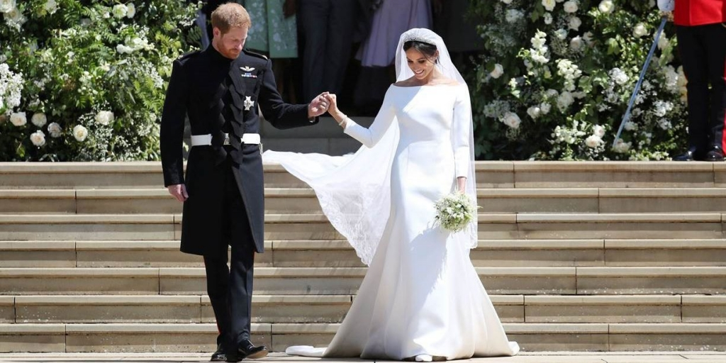 Meghan Markles Givenchy Wedding Dress