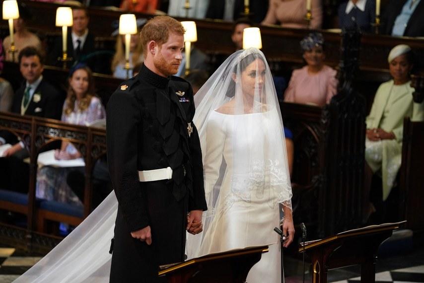 Harry és Meghan esküvője