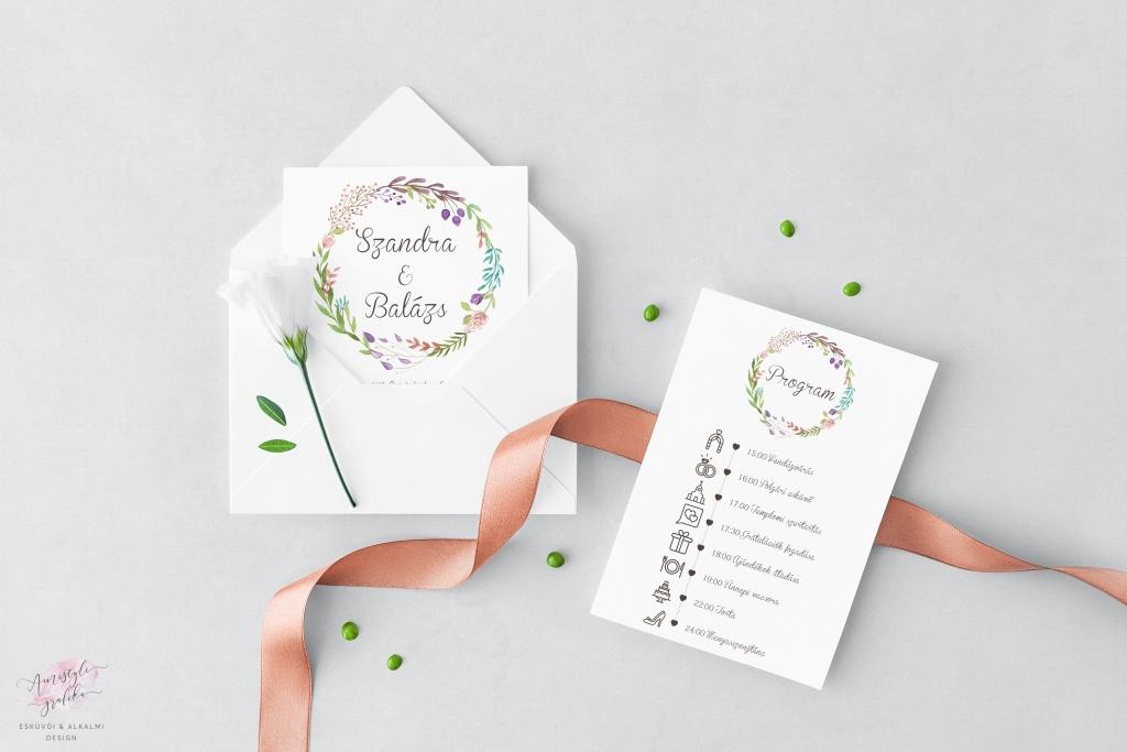 Grafikus ikonok Ötletes esküvői meghívó