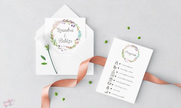 20 ötletes esküvői meghívó