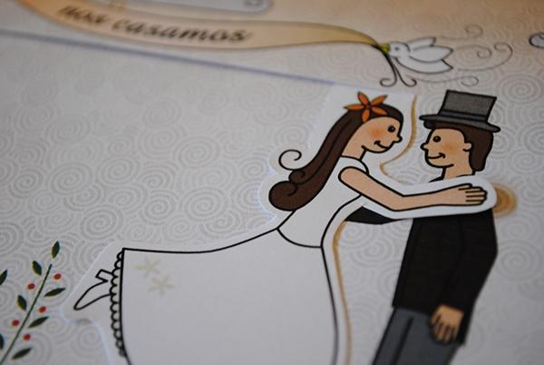 Mozgó Ötletes esküvői meghívó