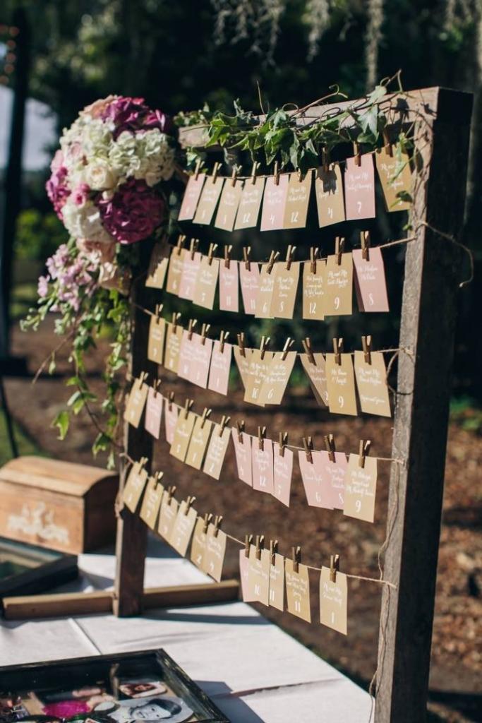 Esküvői ültetőkártya ötletek