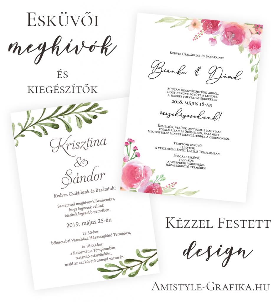 Esküvői meghívó és babaposzter webáruház