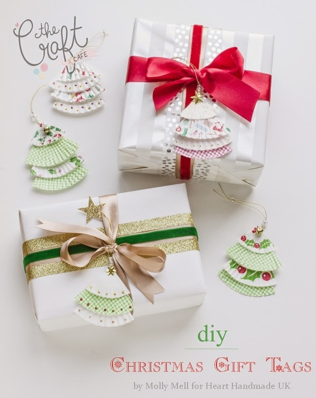 Karácsonyi ajándékkísérő muffin