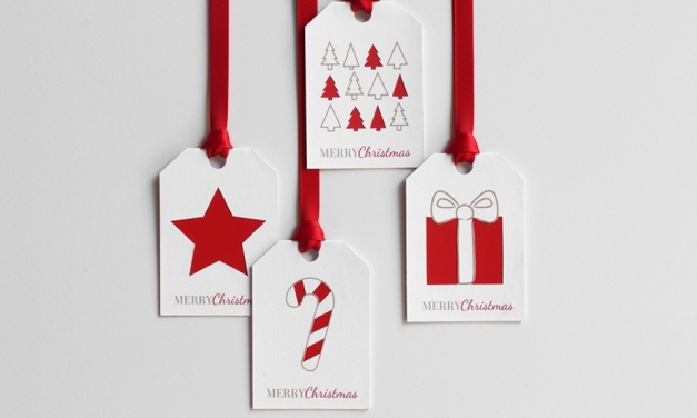 12 ötletes diy karácsonyi ajándékkísérő kártya